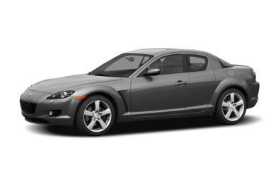 3/4 Front Glamour 2004 Mazda RX-8