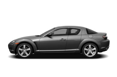 90 Degree Profile 2004 Mazda RX-8