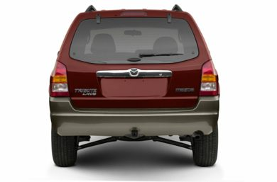 Rear Profile  2004 Mazda Tribute
