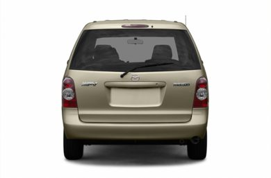 Rear Profile  2004 Mazda MPV