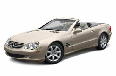 3/4 Front Glamour 2004 Mercedes-Benz SL500