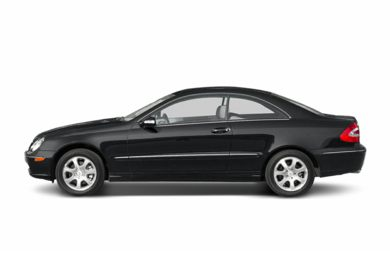90 Degree Profile 2004 Mercedes-Benz CLK320