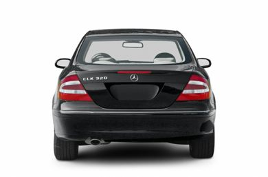 Rear Profile  2004 Mercedes-Benz CLK320