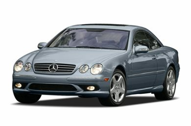 3/4 Front Glamour 2004 Mercedes-Benz CL500