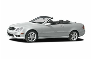 3/4 Front Glamour 2004 Mercedes-Benz CLK320