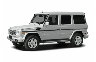 3/4 Front Glamour 2004 Mercedes-Benz G500