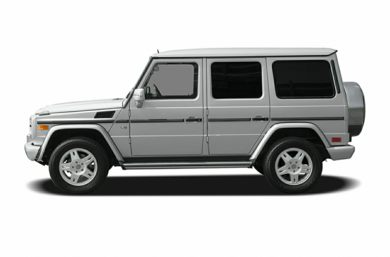 90 Degree Profile 2004 Mercedes-Benz G500