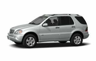 3/4 Front Glamour 2004 Mercedes-Benz ML500