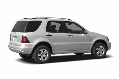 3/4 Rear Glamour  2004 Mercedes-Benz ML500