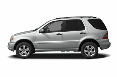 90 Degree Profile 2004 Mercedes-Benz ML500