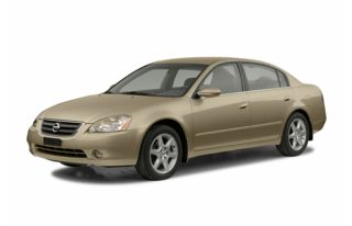 3/4 Front Glamour 2004 Nissan Altima