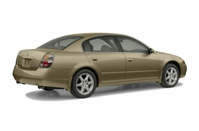 3/4 Rear Glamour  2004 Nissan Altima
