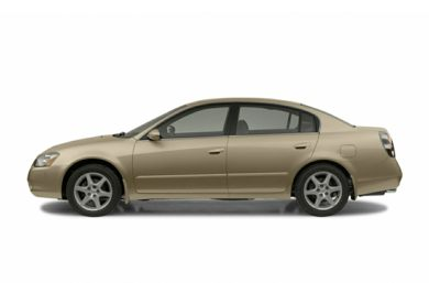 90 Degree Profile 2004 Nissan Altima