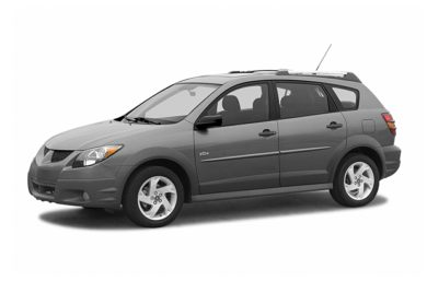 3/4 Front Glamour 2004 Pontiac Vibe