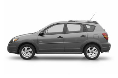 90 Degree Profile 2004 Pontiac Vibe