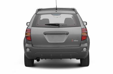 Rear Profile  2004 Pontiac Vibe