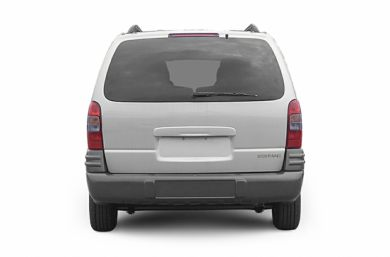 Rear Profile  2004 Pontiac Montana