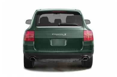 Rear Profile  2004 Porsche Cayenne