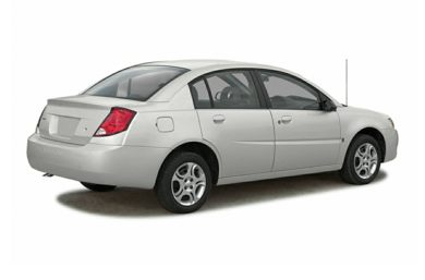 3/4 Rear Glamour  2004 Saturn ION