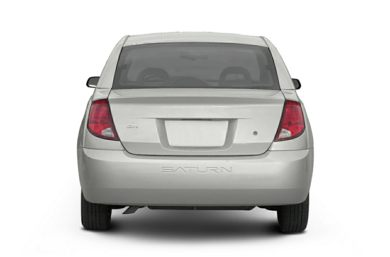 Rear Profile  2004 Saturn ION