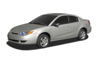 3/4 Front Glamour 2004 Saturn ION