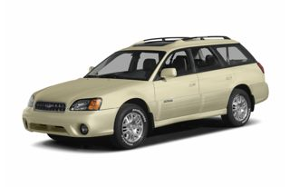 3/4 Front Glamour 2004 Subaru Outback