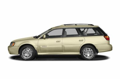 90 Degree Profile 2004 Subaru Outback