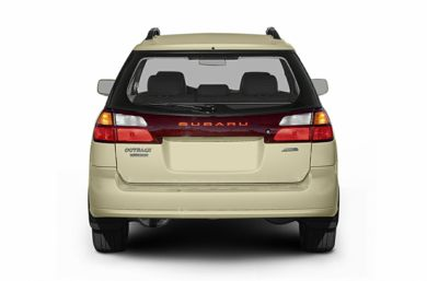 Rear Profile  2004 Subaru Outback