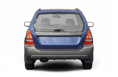 Rear Profile  2004 Subaru Forester