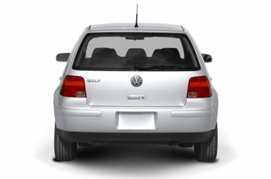 Rear Profile  2004 Volkswagen Golf