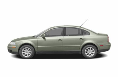 90 Degree Profile 2004 Volkswagen Passat