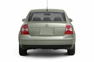 Rear Profile  2004 Volkswagen Passat