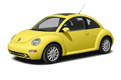 3/4 Front Glamour 2004 Volkswagen New Beetle