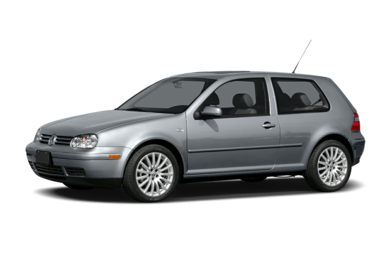 3/4 Front Glamour 2004 Volkswagen GTI