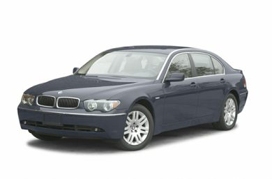 3/4 Front Glamour 2005 BMW 745