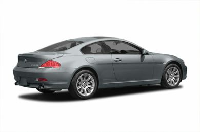 3/4 Rear Glamour  2005 BMW 645