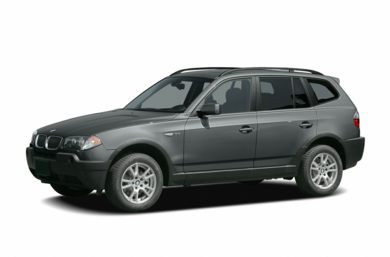 3/4 Front Glamour 2005 BMW X3