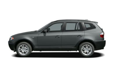 90 Degree Profile 2005 BMW X3