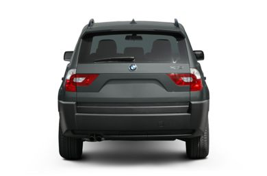 Rear Profile  2005 BMW X3