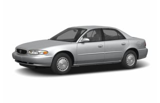 3/4 Front Glamour 2005 Buick Century