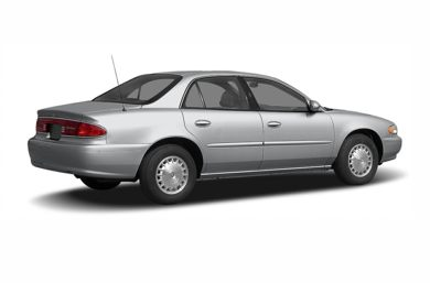 3/4 Rear Glamour  2005 Buick Century