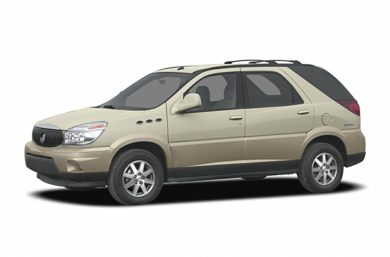 3/4 Front Glamour 2005 Buick Rendezvous