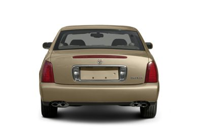 Rear Profile  2005 Cadillac DeVille