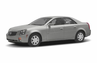 3/4 Front Glamour 2005 Cadillac CTS