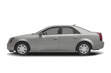 90 Degree Profile 2005 Cadillac CTS