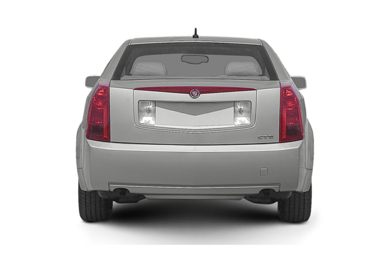 Rear Profile  2005 Cadillac CTS