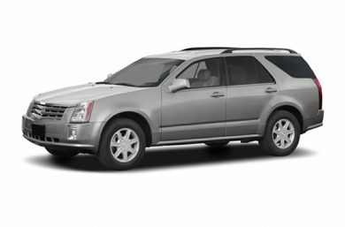3/4 Front Glamour 2005 Cadillac SRX