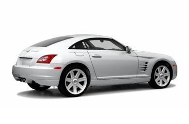 3/4 Rear Glamour  2005 Chrysler Crossfire
