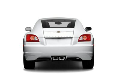 Rear Profile  2005 Chrysler Crossfire