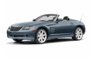3/4 Front Glamour 2005 Chrysler Crossfire